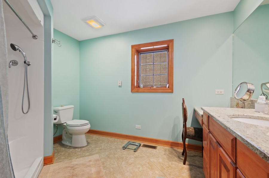 Real Estate Photography - 7004 North Mcalpin Ave, Chicago, IL, 60646 - Master Bathroom