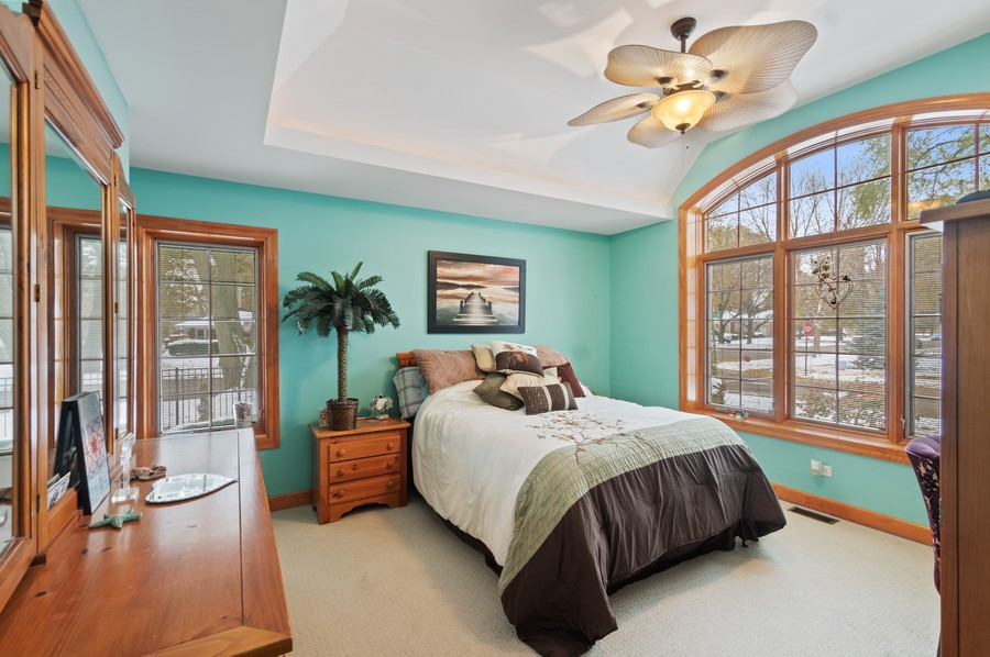 Real Estate Photography - 7004 North Mcalpin Ave, Chicago, IL, 60646 - Master Bedroom
