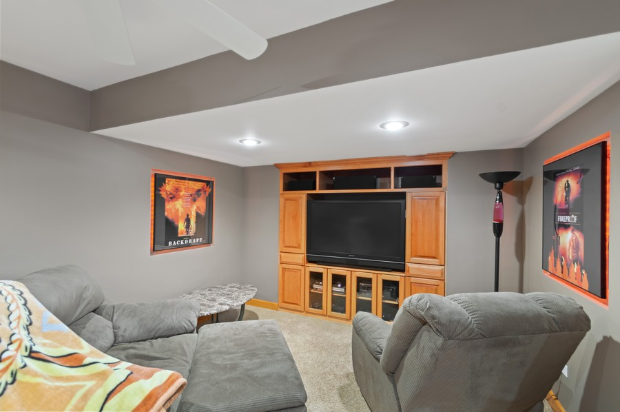 Real Estate Photography - 7004 North Mcalpin Ave, Chicago, IL, 60646 - Media Room