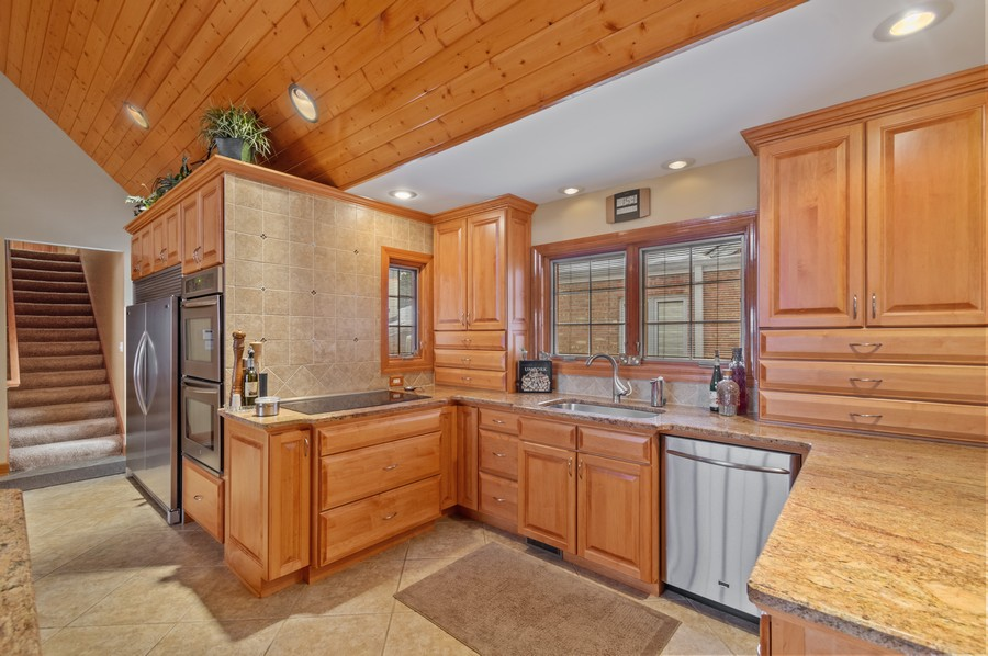 Real Estate Photography - 7004 North Mcalpin Ave, Chicago, IL, 60646 - Kitchen