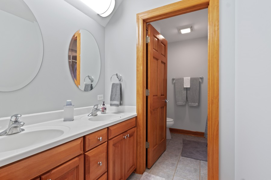 Real Estate Photography - 7004 North Mcalpin Ave, Chicago, IL, 60646 - 2nd Bathroom