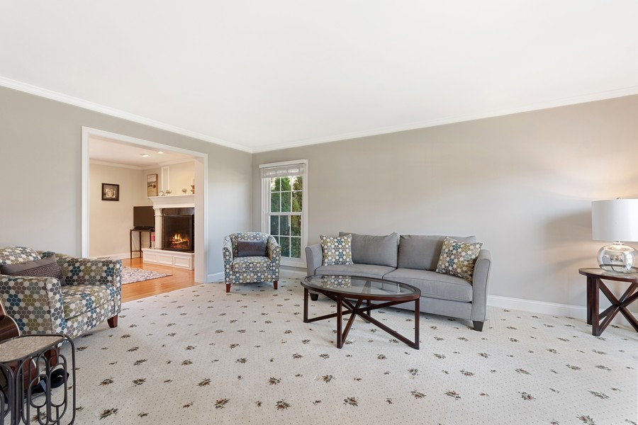 Real Estate Photography - 1489 Briergate Dr, Naperville, IL, 60563 - Living Room