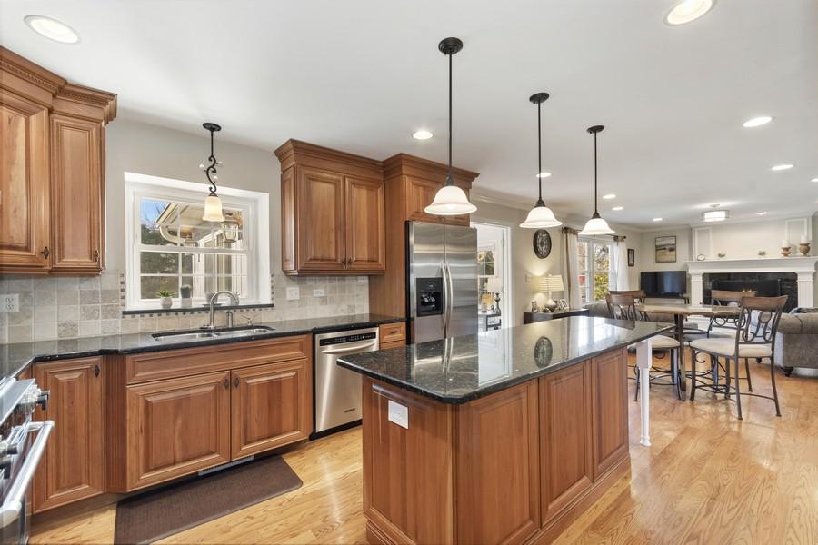 Real Estate Photography - 1489 Briergate Dr, Naperville, IL, 60563 - Kitchen
