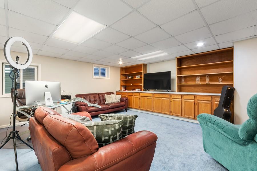 Real Estate Photography - 1489 Briergate Dr, Naperville, IL, 60563 - Basement