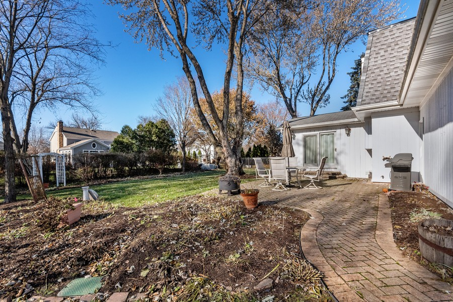 Real Estate Photography - 1489 Briergate Dr, Naperville, IL, 60563 - Back Yard