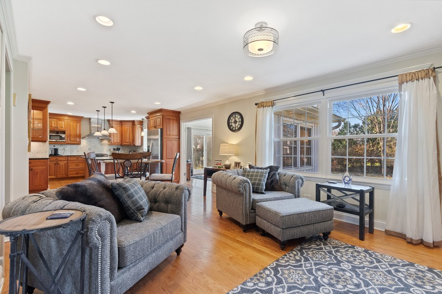 Real Estate Photography - 1489 Briergate Dr, Naperville, IL, 60563 - Family Room