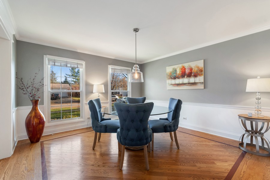 Real Estate Photography - 1489 Briergate Dr, Naperville, IL, 60563 - Dining Room