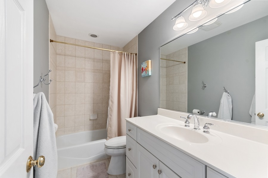 Real Estate Photography - 1489 Briergate Dr, Naperville, IL, 60563 - 2nd Bathroom