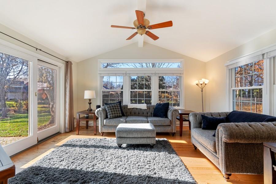 Real Estate Photography - 1489 Briergate Dr, Naperville, IL, 60563 - Sun Room