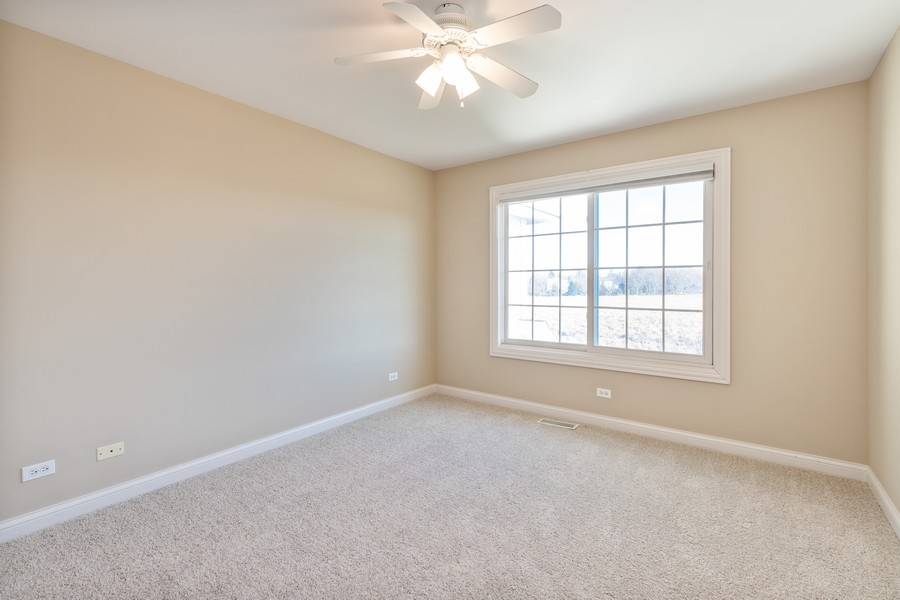 Real Estate Photography - 33051 North Stone Manor Dr, Grayslake, IL, 60030 - 2nd Bedroom