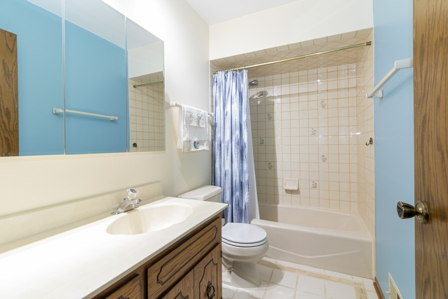 Real Estate Photography - 15621 Violet Ct, Orland Park, IL, 60462 - Bathroom