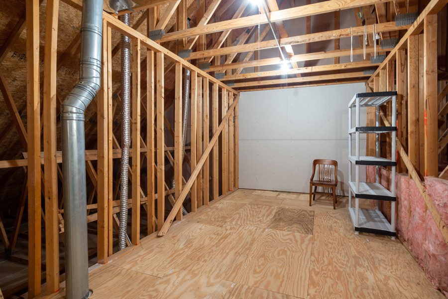 Real Estate Photography - 341 Cascade Ln, Oswego, IL, 60543 - Extra Storage Space off the 2nd Floor Hallway