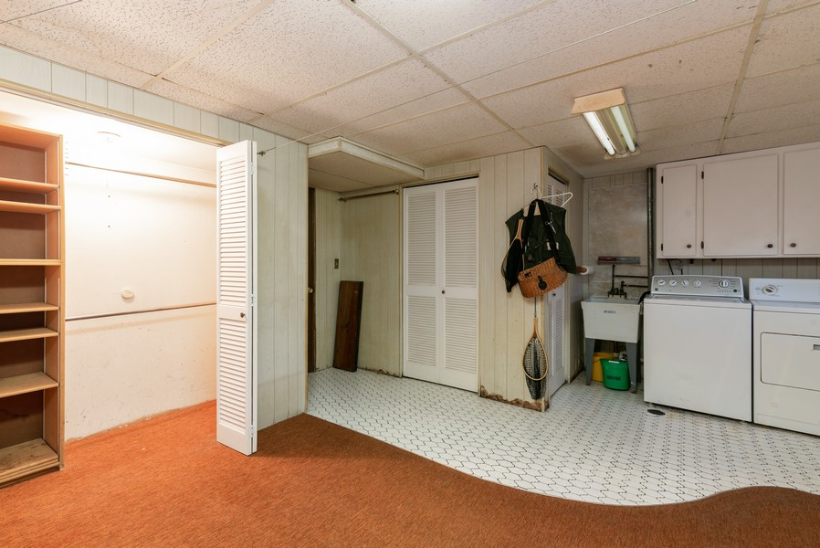Real Estate Photography - 419 Regal Ct, Addison, IL, 60101 - Laundry Room