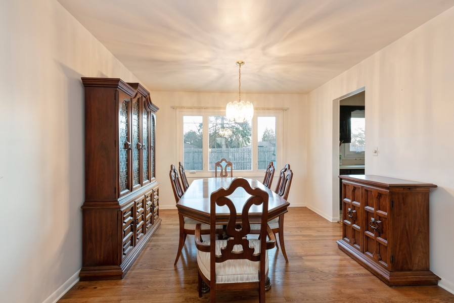 Real Estate Photography - 419 Regal Ct, Addison, IL, 60101 - Dining Room