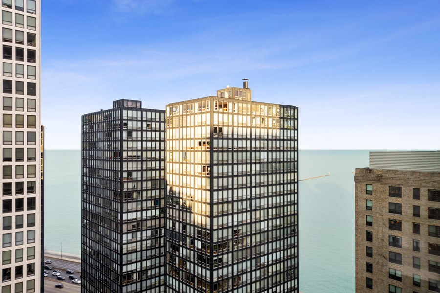 Real Estate Photography - 250 East Pearson St, 2302, Chicago, IL, 60611 - View