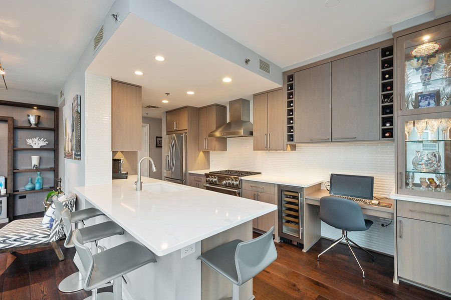 Real Estate Photography - 250 East Pearson St, 2302, Chicago, IL, 60611 - Kitchen