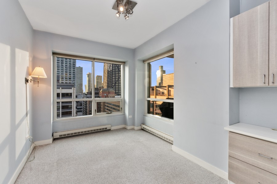 Real Estate Photography - 250 East Pearson St, 2302, Chicago, IL, 60611 - Bedroom
