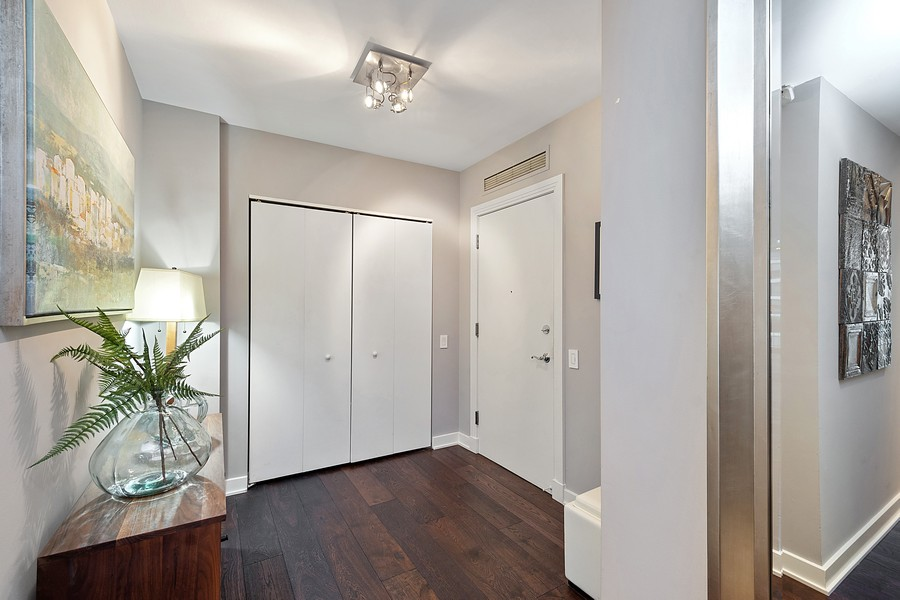 Real Estate Photography - 250 East Pearson St, 2302, Chicago, IL, 60611 - Foyer