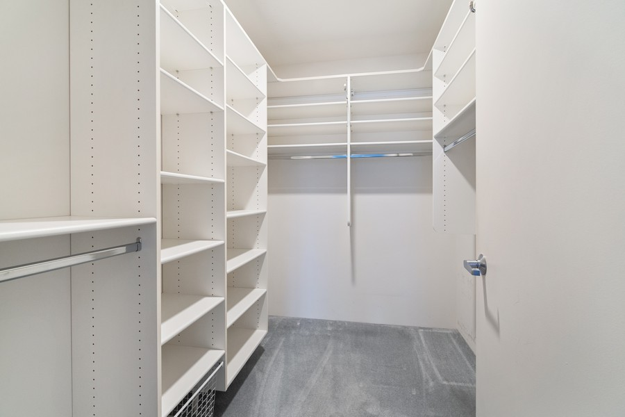 Real Estate Photography - 380 Green Bay Rd, 3D, Winnetka, IL, 60093 - Master Bedroom Closet