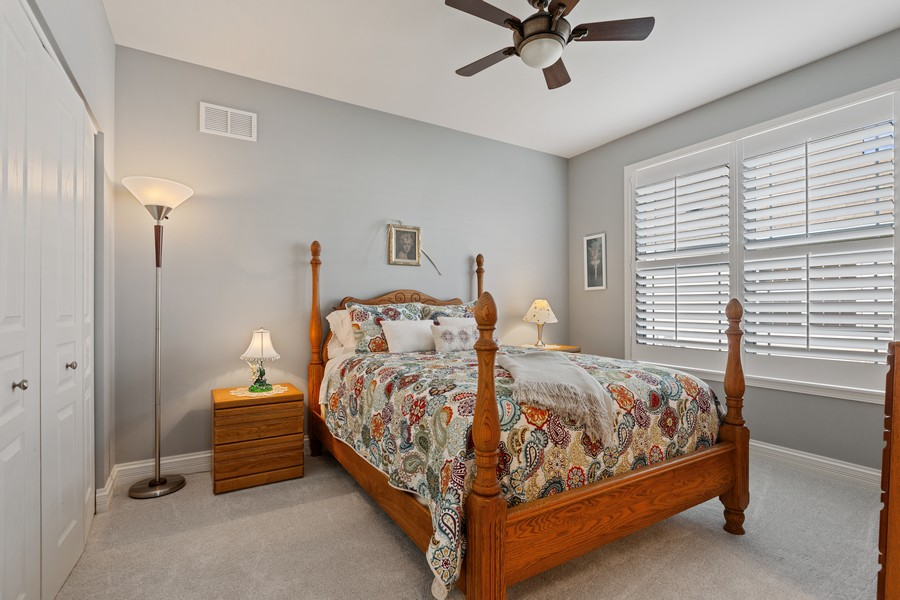 Real Estate Photography - 2811 Melrose Ln, Naperville, IL, 60564 - Bedroom