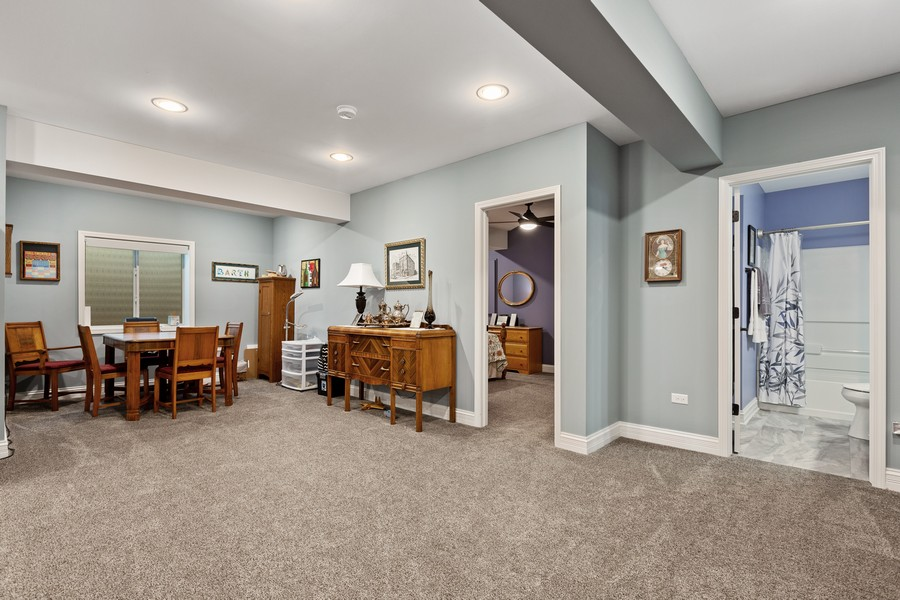 Real Estate Photography - 2811 Melrose Ln, Naperville, IL, 60564 - Basement