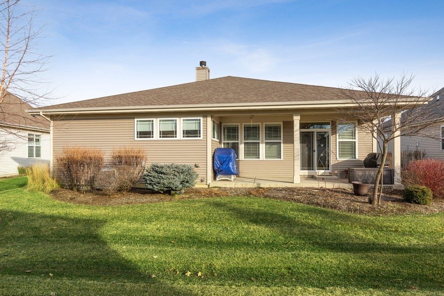 Real Estate Photography - 2811 Melrose Ln, Naperville, IL, 60564 - Rear View