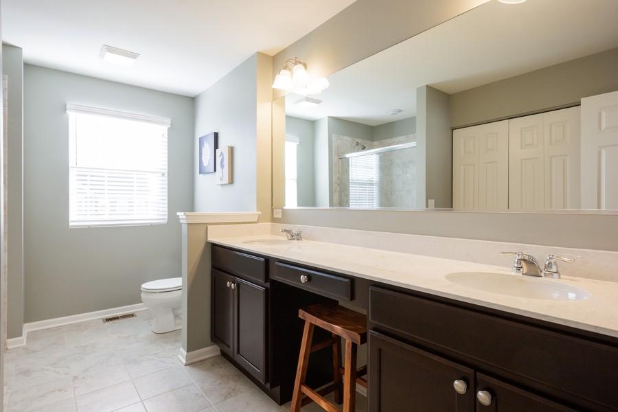 Real Estate Photography - 7801 Bellflower Ln, Joliet, IL, 60431 - Master Bathroom