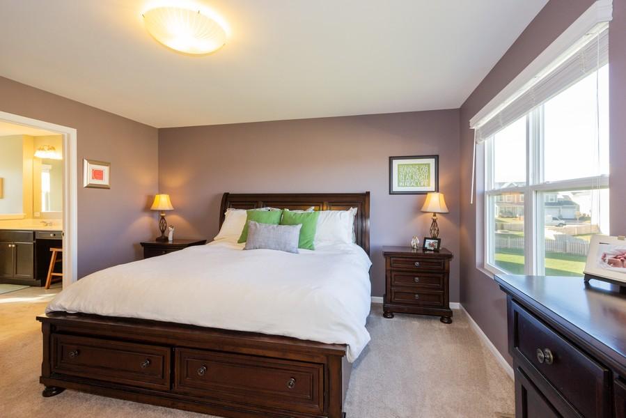 Real Estate Photography - 7801 Bellflower Ln, Joliet, IL, 60431 - Master Bedroom