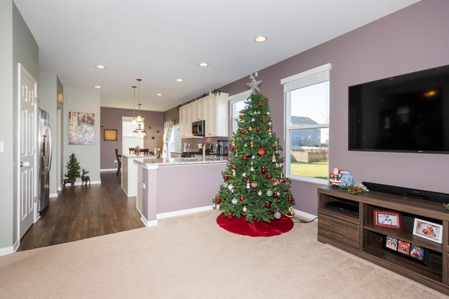 Real Estate Photography - 7801 Bellflower Ln, Joliet, IL, 60431 - Living Room