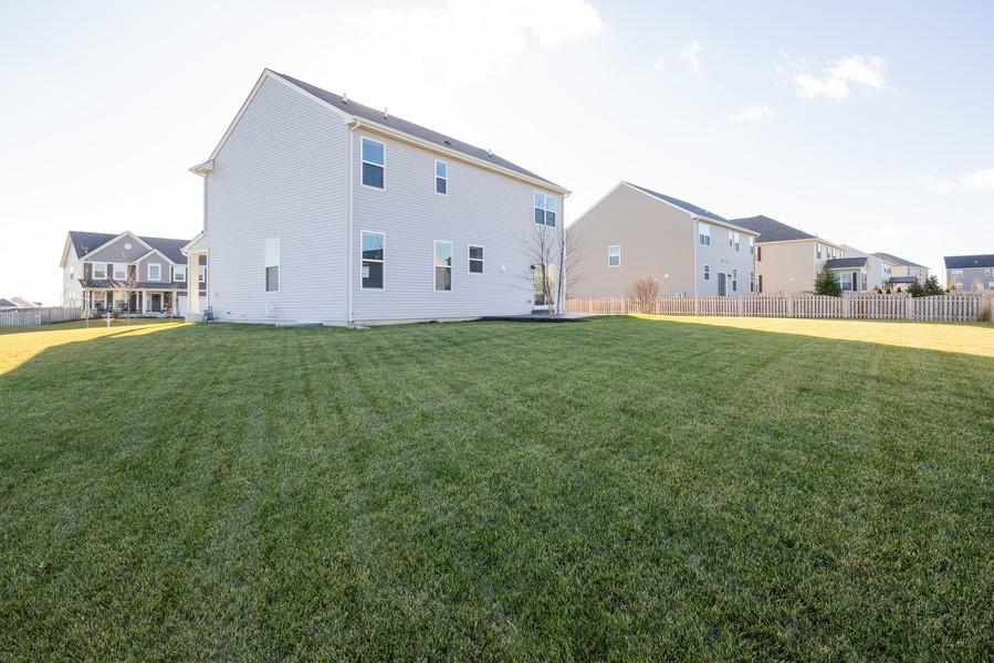 Real Estate Photography - 7801 Bellflower Ln, Joliet, IL, 60431 - Back Yard
