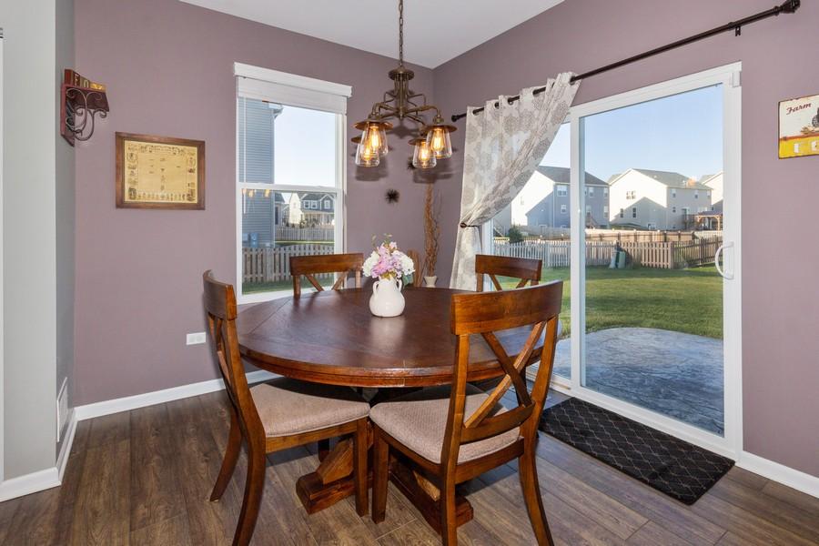 Real Estate Photography - 7801 Bellflower Ln, Joliet, IL, 60431 - Breakfast Area