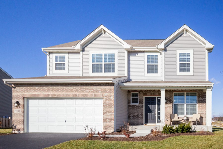 Real Estate Photography - 7801 Bellflower Ln, Joliet, IL, 60431 - Front View