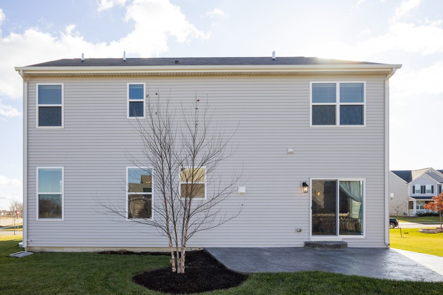 Real Estate Photography - 7801 Bellflower Ln, Joliet, IL, 60431 - Rear View