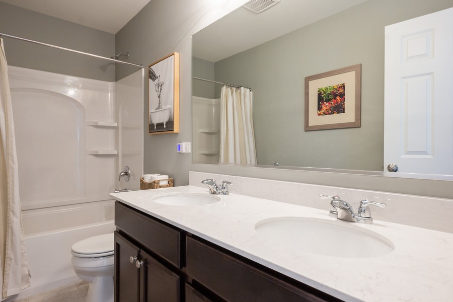 Real Estate Photography - 7801 Bellflower Ln, Joliet, IL, 60431 - Bathroom
