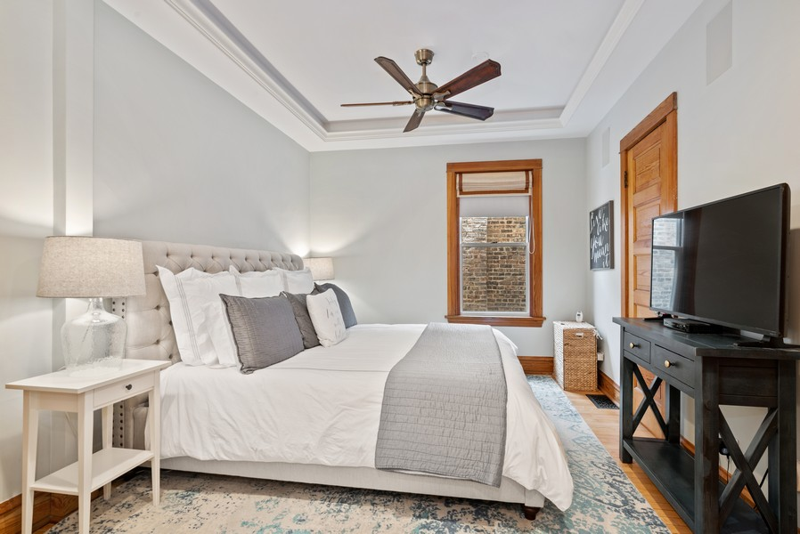 Real Estate Photography - 1715 West Carmen Ave, Chicago, IL, 60640 - Master Bedroom