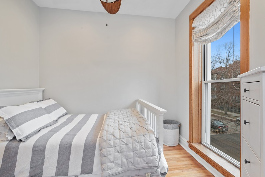 Real Estate Photography - 1715 West Carmen Ave, Chicago, IL, 60640 - 2nd Bedroom