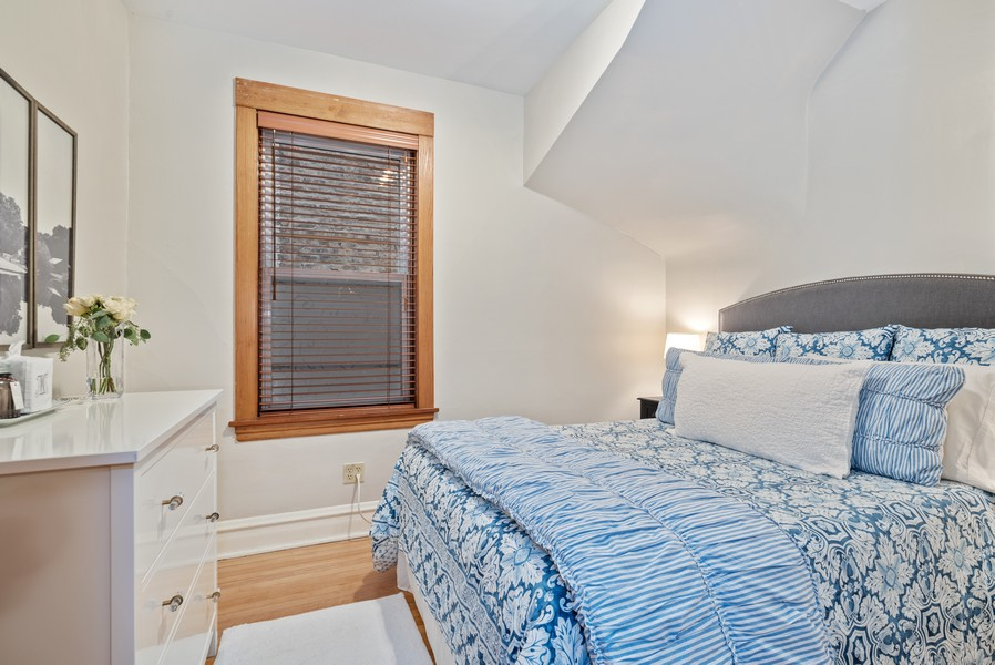 Real Estate Photography - 1715 West Carmen Ave, Chicago, IL, 60640 - 3rd Bedroom