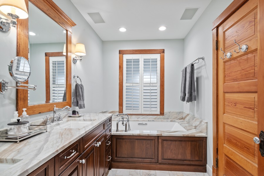 Real Estate Photography - 1715 West Carmen Ave, Chicago, IL, 60640 - Master Bathroom