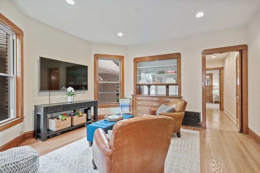 Real Estate Photography - 1715 West Carmen Ave, Chicago, IL, 60640 - Family Room