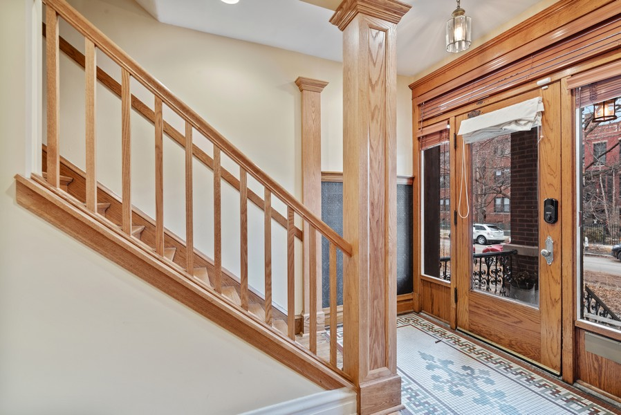 Real Estate Photography - 1715 West Carmen Ave, Chicago, IL, 60640 - Foyer