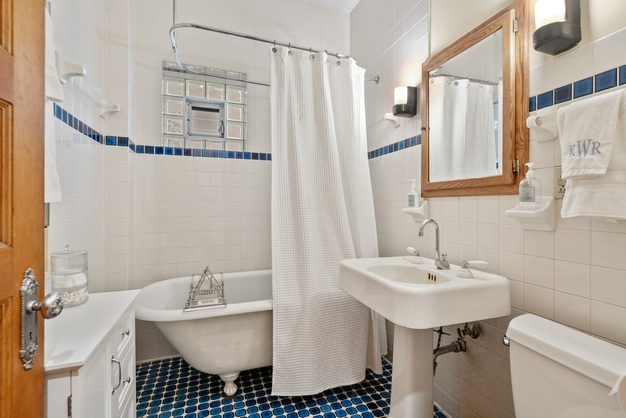 Real Estate Photography - 1715 West Carmen Ave, Chicago, IL, 60640 - Bathroom