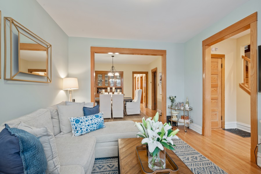 Real Estate Photography - 1715 West Carmen Ave, Chicago, IL, 60640 - Living Room/Dining Room
