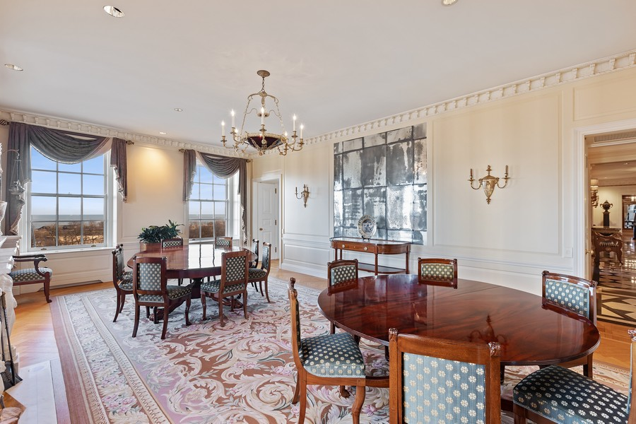 Real Estate Photography - 2450 North Lakeview Ave, 10, Chicago, IL, 60614 - Dining Room