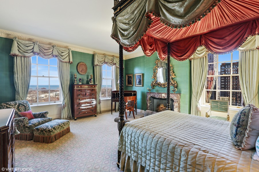 Real Estate Photography - 2450 North Lakeview Ave, 10, Chicago, IL, 60614 - Master Bedroom
