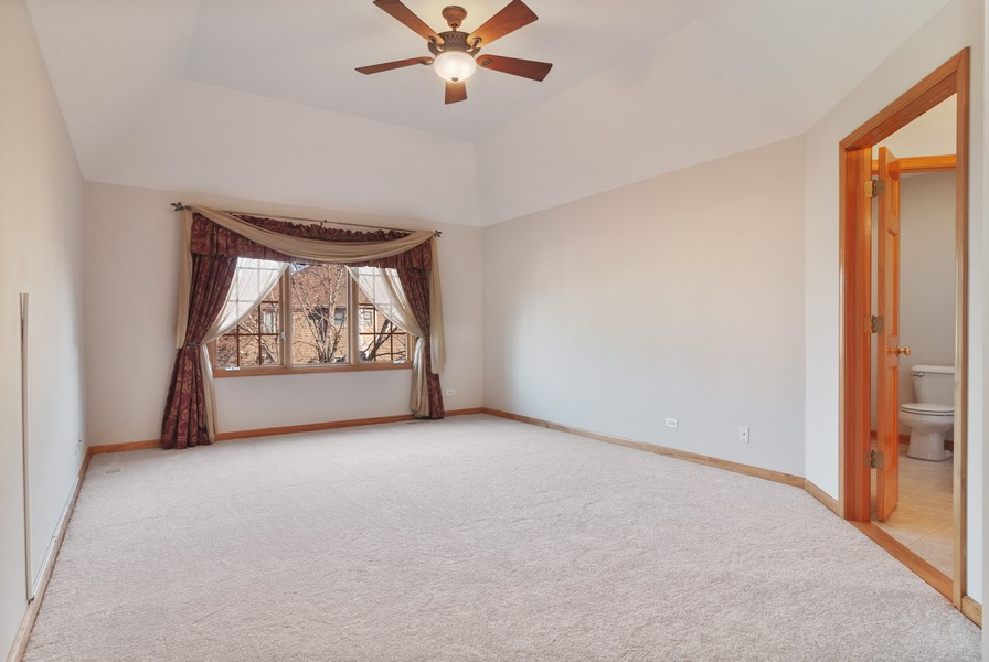 Real Estate Photography - 2508 Sutton Ln, Aurora, IL, 60502 - Master Bedroom