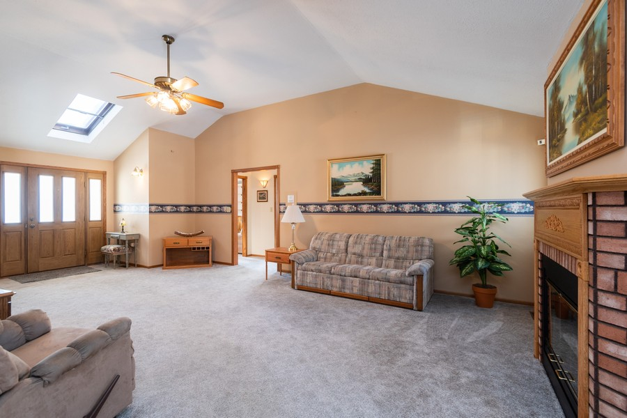Real Estate Photography - 217 Aspen Dr, New Lenox, IL, 60451 - Living Room