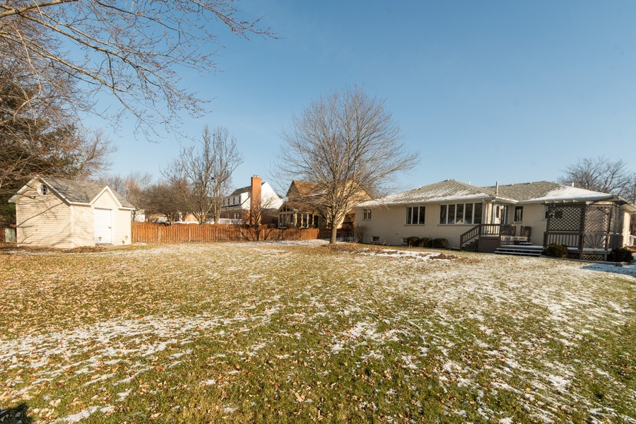 Real Estate Photography - 217 Aspen Dr, New Lenox, IL, 60451 - Rear View