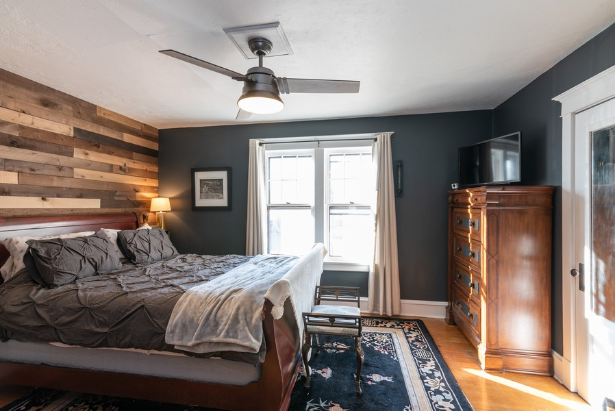 Real Estate Photography - 21 Woodland Ave, Elgin, IL, 60123 - Master Bedroom