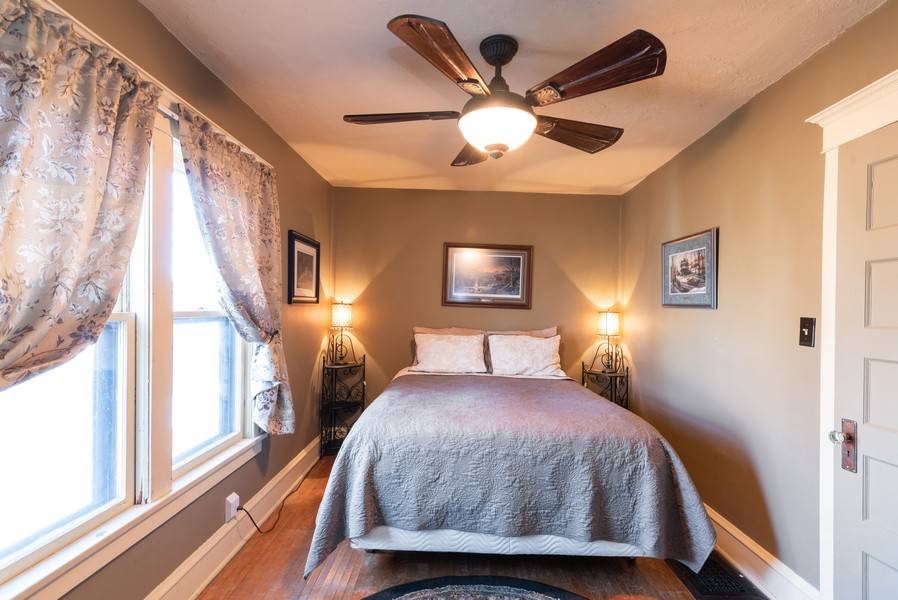 Real Estate Photography - 21 Woodland Ave, Elgin, IL, 60123 - 2nd Bedroom