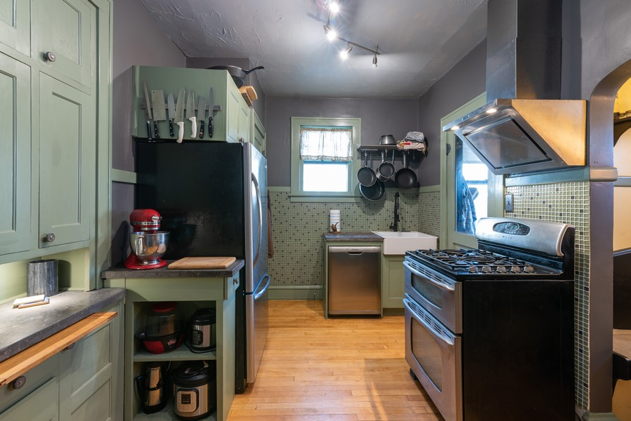 Real Estate Photography - 21 Woodland Ave, Elgin, IL, 60123 - Kitchen